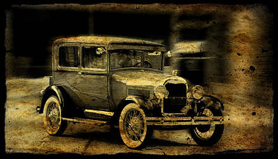Art Print featuring the photograph Model T No. 3 by Janice Adomeit