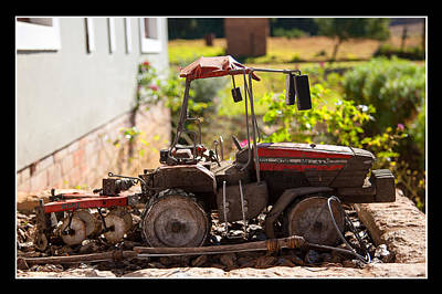 Photograph - Model Tractor by Miguel Capelo