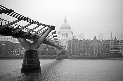 Photograph - Modern And Traditional London by Lenny Carter