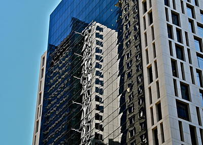 Photograph - Modern Building Reflections In Sydney by Kirsten Giving