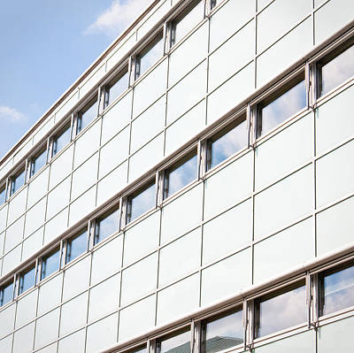 Commercial Photograph - Modern Building by Tom Gowanlock