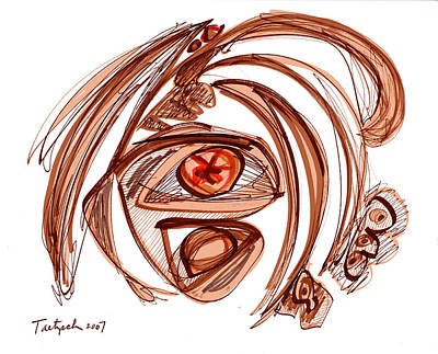 Modern Drawing 106 Original