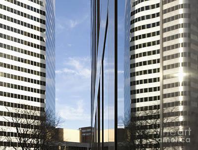 Modern High Rise Office Buildings Art Print by Roberto Westbrook