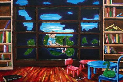 Painting - Modern Innocence by Elisabeth Dubois