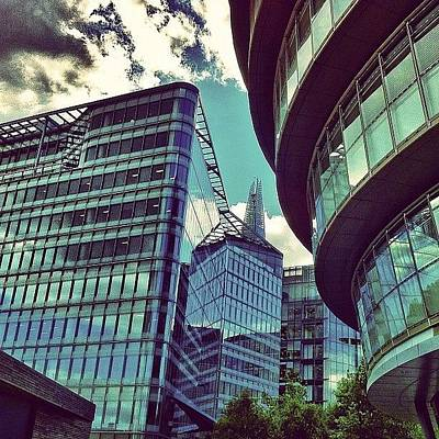 Skyscrapers Photograph - Modern London by Samuel Gunnell