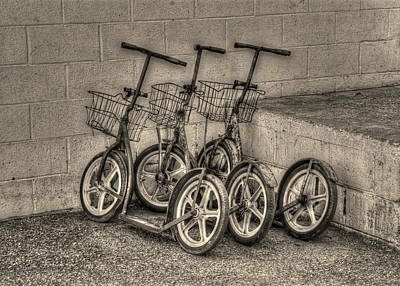 Modern Old Ways In Black And White Art Print by Greg and Chrystal Mimbs