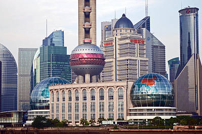 Photograph - Modern Shanghai by Harvey Barrison