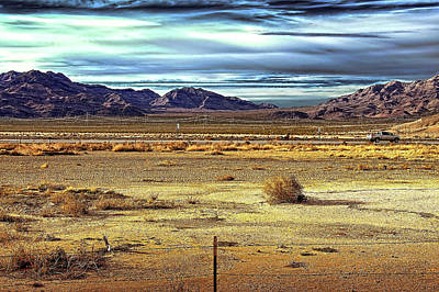 Mojave Desert Art Print by Andre Salvador