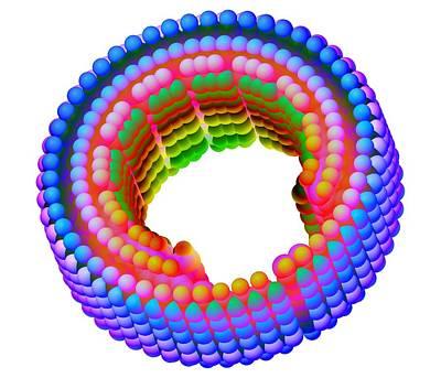 Molecular Bearing Sleeve Art Print by Pasieka