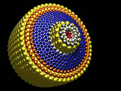 Molecular Differential Gear Art Print by Pasieka