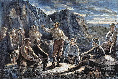 Molly Maguires, 1874 Art Print by Granger