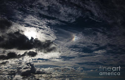 Molten Cloud And Sundog Original by Dennis William Gaylor