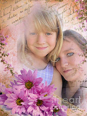Digital Art - Mom And Me by Ruby Cross