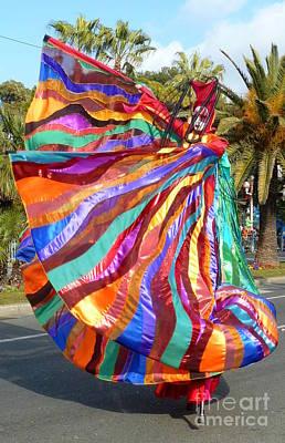 Anna Duyunova Art Photograph - Moments Of Carnival. Butterfly by Anna  Duyunova