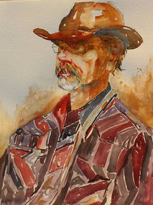 Painting - Momma Don't Let Your Babies Grow Up To Be Cowboys by Tara Moorman