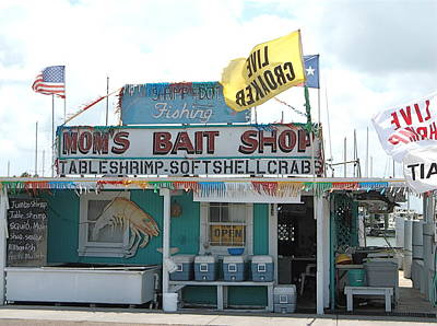 Photograph - Mom's Bait Shop by Stacey Robinson