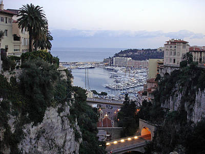 Photograph - Monaco Port by Robert Meyers-Lussier