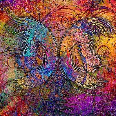 Digital Art - Monarch by Barbara Berney
