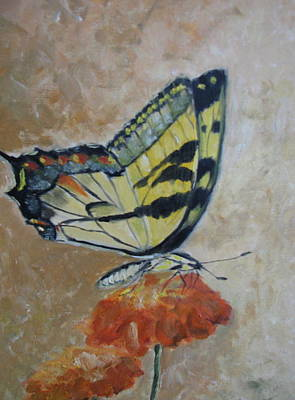 Monarch Art Print by Iris Nazario Dziadul