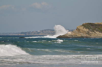 Art Print featuring the photograph Monarch Wave by Johanne Peale