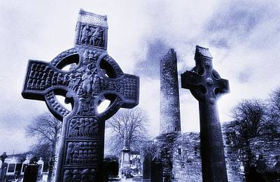 Monasterboice, Co Louth, Ireland Art Print by The Irish Image Collection