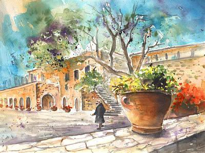 Painting - Monastery Of Asomatos by Miki De Goodaboom