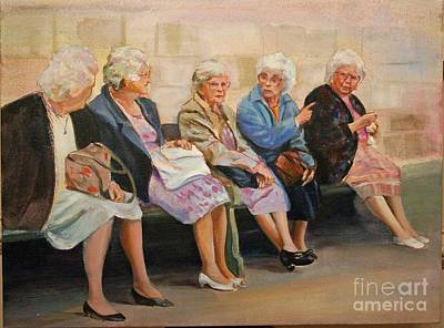 Monday At The Social Security Office Art Print