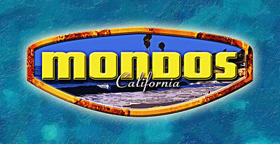 So. Cal Wall Art - Digital Art - Mondos Logo by Ron Regalado