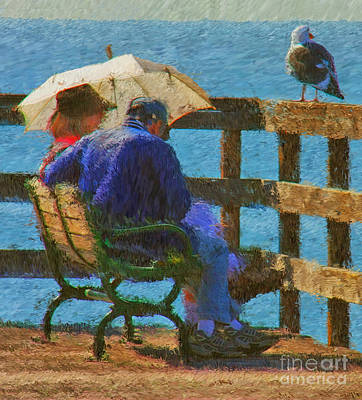 Monet Moment Art Print by Tom Griffithe