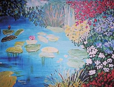Painting - Monet Style By Alanna by Alanna Hug-McAnnally