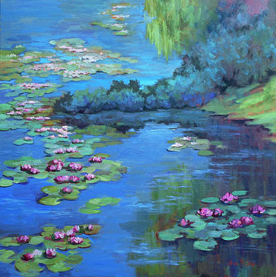 Painting - Monet's Garden by Diane McClary