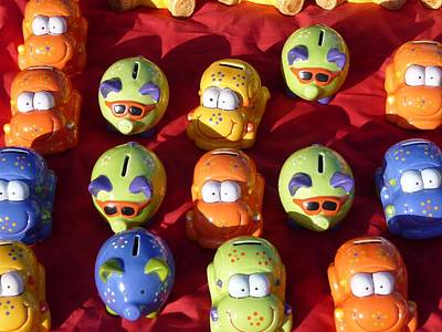 Photograph - Money Boxes by Ed Lukas