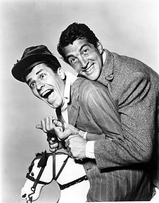 Money From Home, Jerry Lewis, Dean Art Print