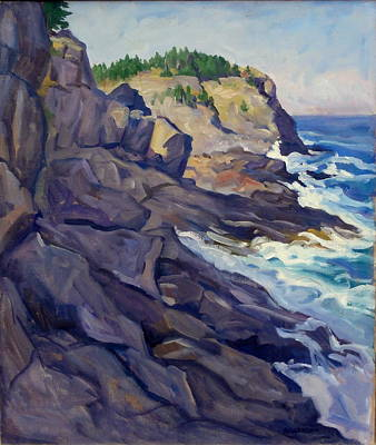 Monhegan Coast Art Print