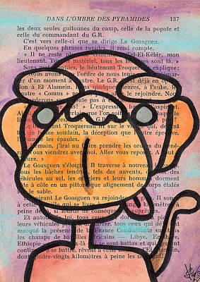 Painting - Monkey Business by Jera Sky