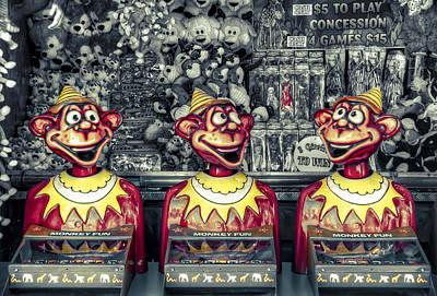Photograph - Monkey Business by Wayne Sherriff