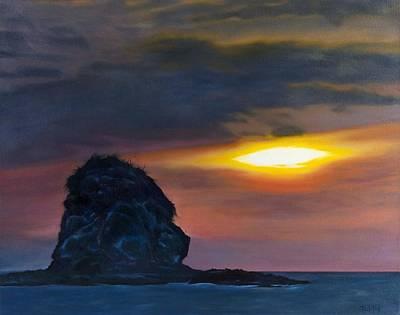 Monkey Head Island Art Print by Pamela Bell