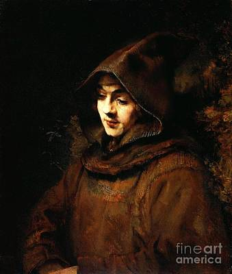 Painting - Monks Habit by Pg Reproductions