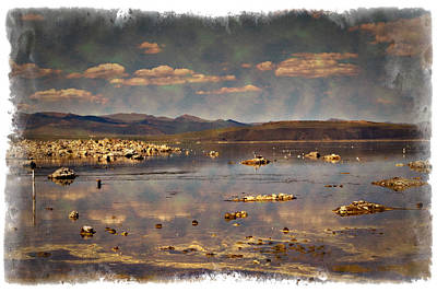 Photograph - Mono Lake - Impressions by Ricky Barnard