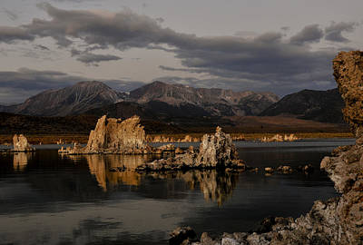 Mono Lake At Sunrise Art Print