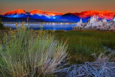 Monolake Photograph - Mono Lake by Jimmy Huynh