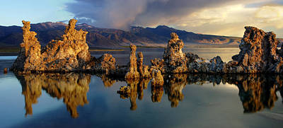Photograph - Mono Lake Panorama by Dave Dilli