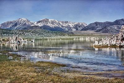 Crowley Lake Photograph - Mono Lake Sierra by Linda Dunn