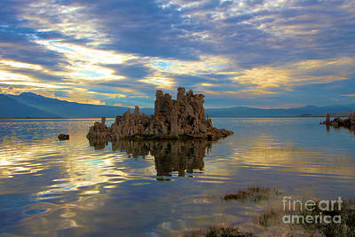 Photograph - Mono Lake Tufas Sunset by Adam Jewell