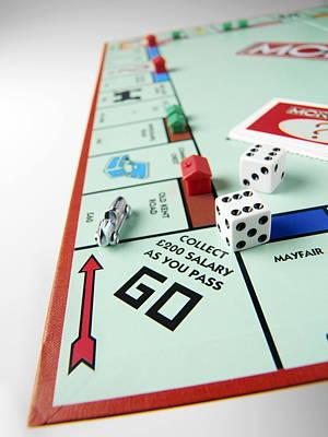 Monopoly Board Game Art Print by Tek Image