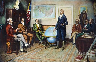 Photograph - Monroe Doctrine, 1823 by Granger