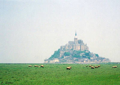Photograph - Mont St. Michel by C Sitton