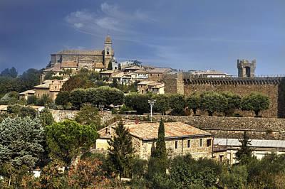 Church Steeple Photograph - Montalcino by Joana Kruse