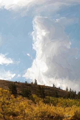 Painting - Montana Big Sky by Jim Pavelle