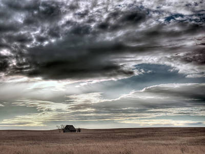 Lenticular  - Montana Grasslands by Leland D Howard